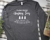 Christmas Tree Farm long sleeve tee