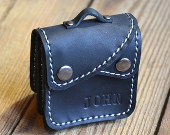 4fd151e38022 Leather Coin Purse with Personalization