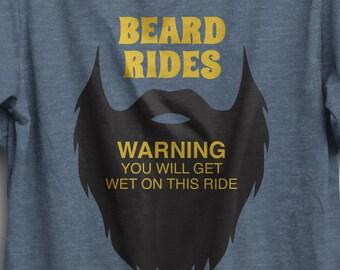 Funny beard shirt   Etsy