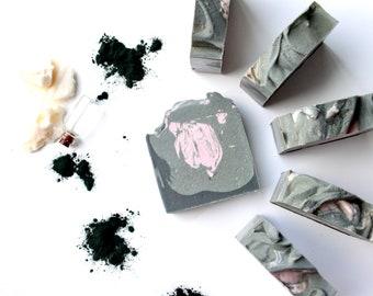 Secret Heart   Full Size Artisan Bar Soap