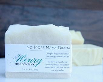No More Mama Drama   Full Size Artisan Bar Soap