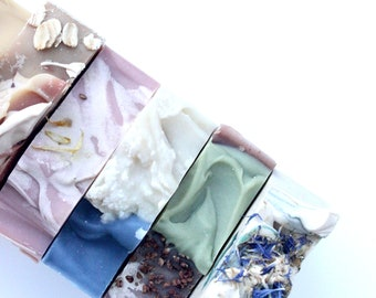 Assorted SIX bar Soap Bundle