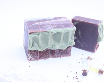 Blackberry Sage | Full Size Artisan Bar Soap