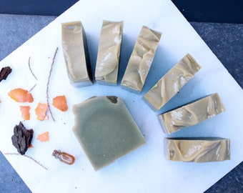 Patchouli, Orange and Cedarwood | Full Size Artisan Bar Soap