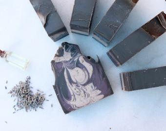 Amber & Lavender soap | Full Size Artisan Bar Soap
