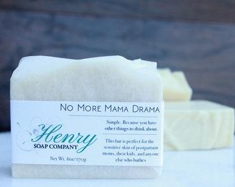 No More Mama Drama| Full Size Artisan Bar Soap