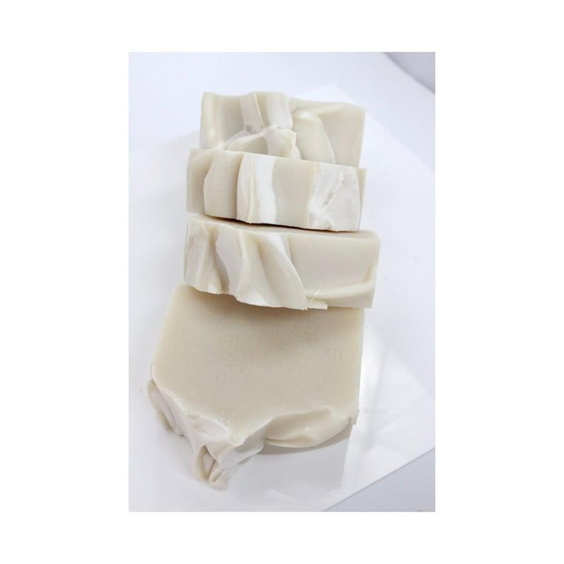 Naked Soap Bar  sensitive skin bar  unscented soap  image 0