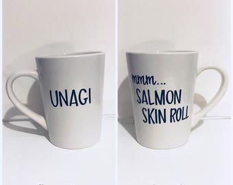 Unagi FRIENDS inspired mug