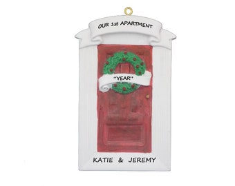 Personalized 1st Apartment Ornament