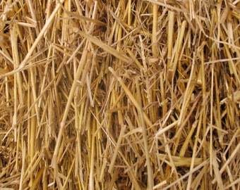 100 Percent Natural Wheat Straw 4lbs, 8lbs, or 12lbs