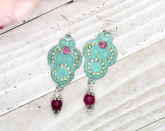 French Country Enhanced Crystal Earrings