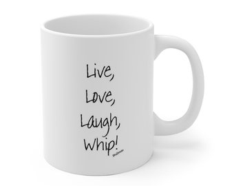 Whip - White Ceramic Mug