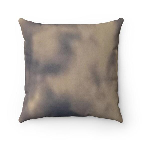 Blue Tie Dye - Spun Polyester Square Pillow
