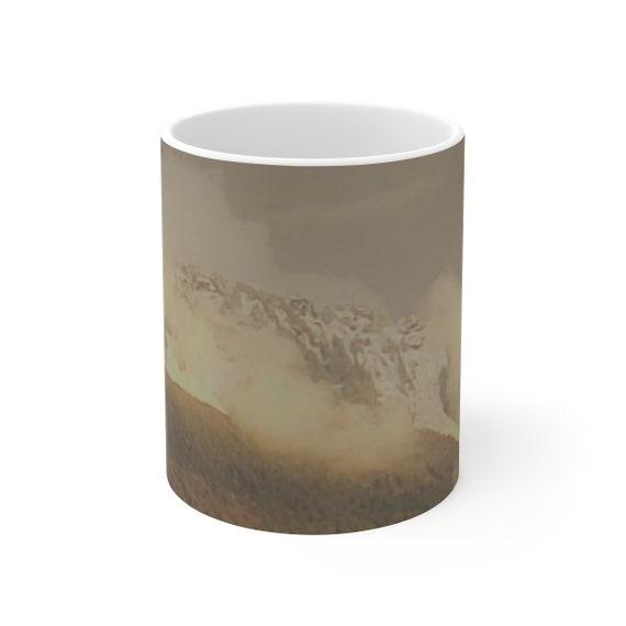 Sauk Mountain - White Ceramic Mug