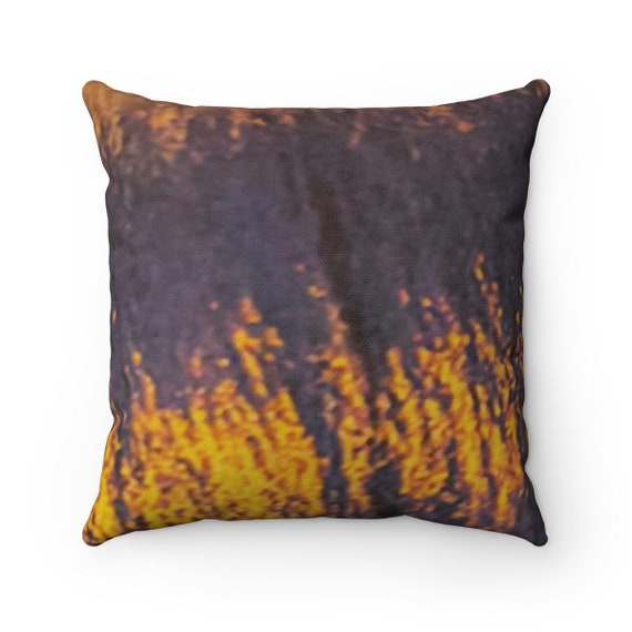 Moonlight on Water - Spun Polyester Square Pillow