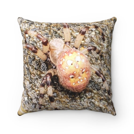 Spider - Spun Polyester Square Pillow