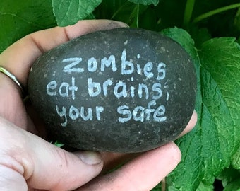 Engraved Rock/ Stone, Funny Gag Gift, Novelty,