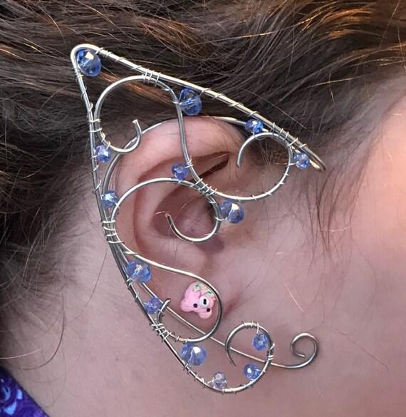 Fairy Ears Elven Ears Faery Ear Cuffs Elf Ears Wire Elf Etsy