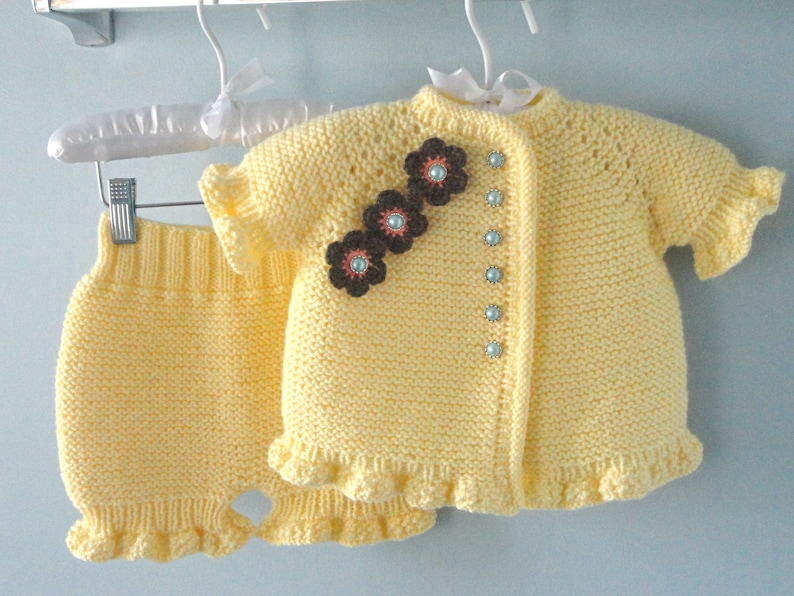 931556de6424 Baby Girl Cardigan Knitted Baby Jacket Knitted Baby Pants