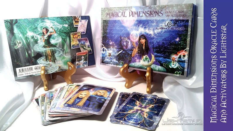 Magical Dimensions Oracle Cards and Activators By Lightstar image 0