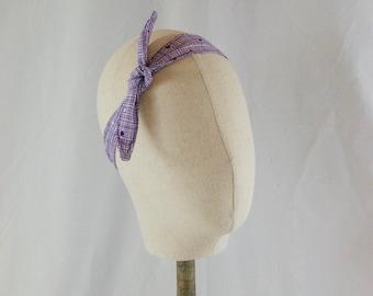 Purple 2-Way Reversible Headband