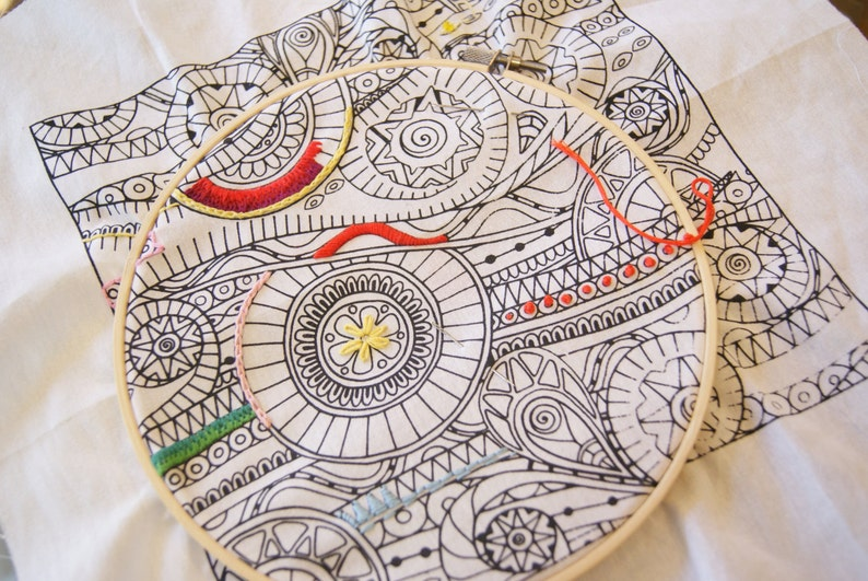 Zenbroidery: Hand Embroidery Kits