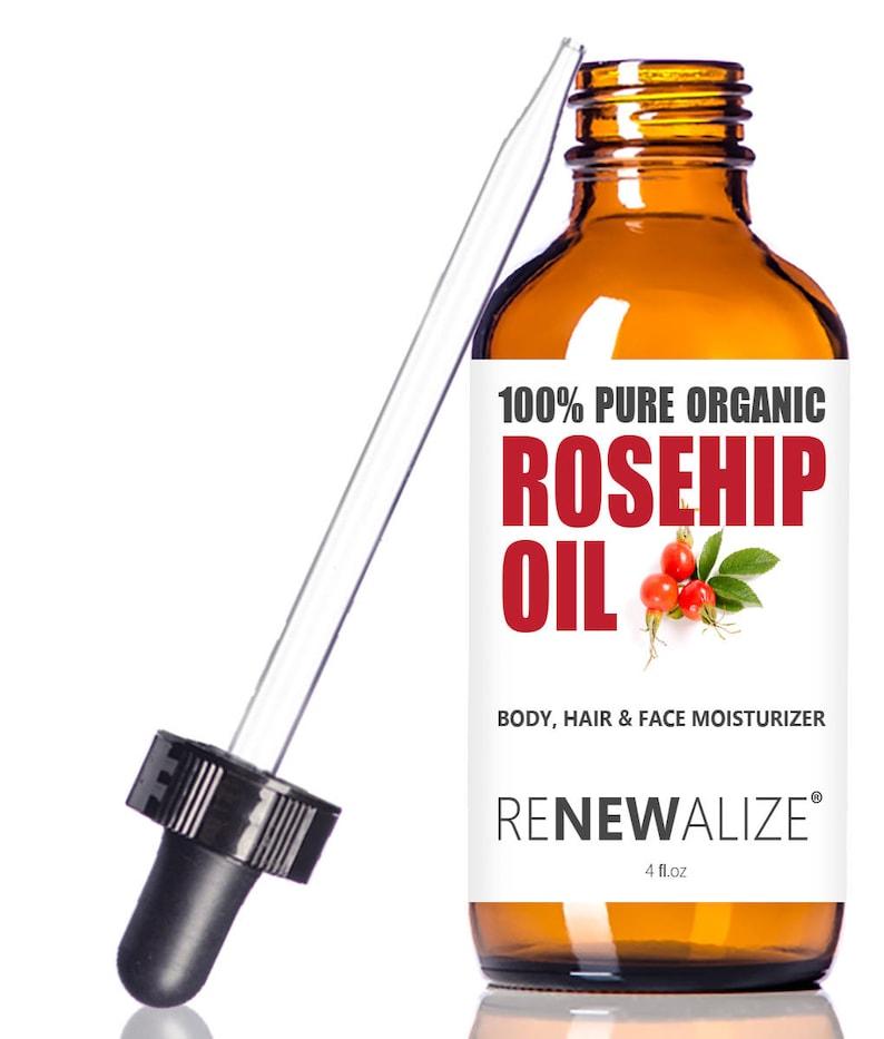 Organic Rosehip Oil face moisturizer / scar serum / acne scar / acne scars  / self care / facial toner / salve / dark spot serum / eye serum