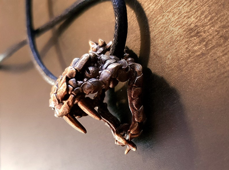 Viper Snake Pendant