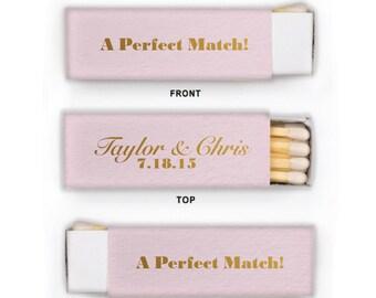 A Perfect Match Personalized Matchbooks