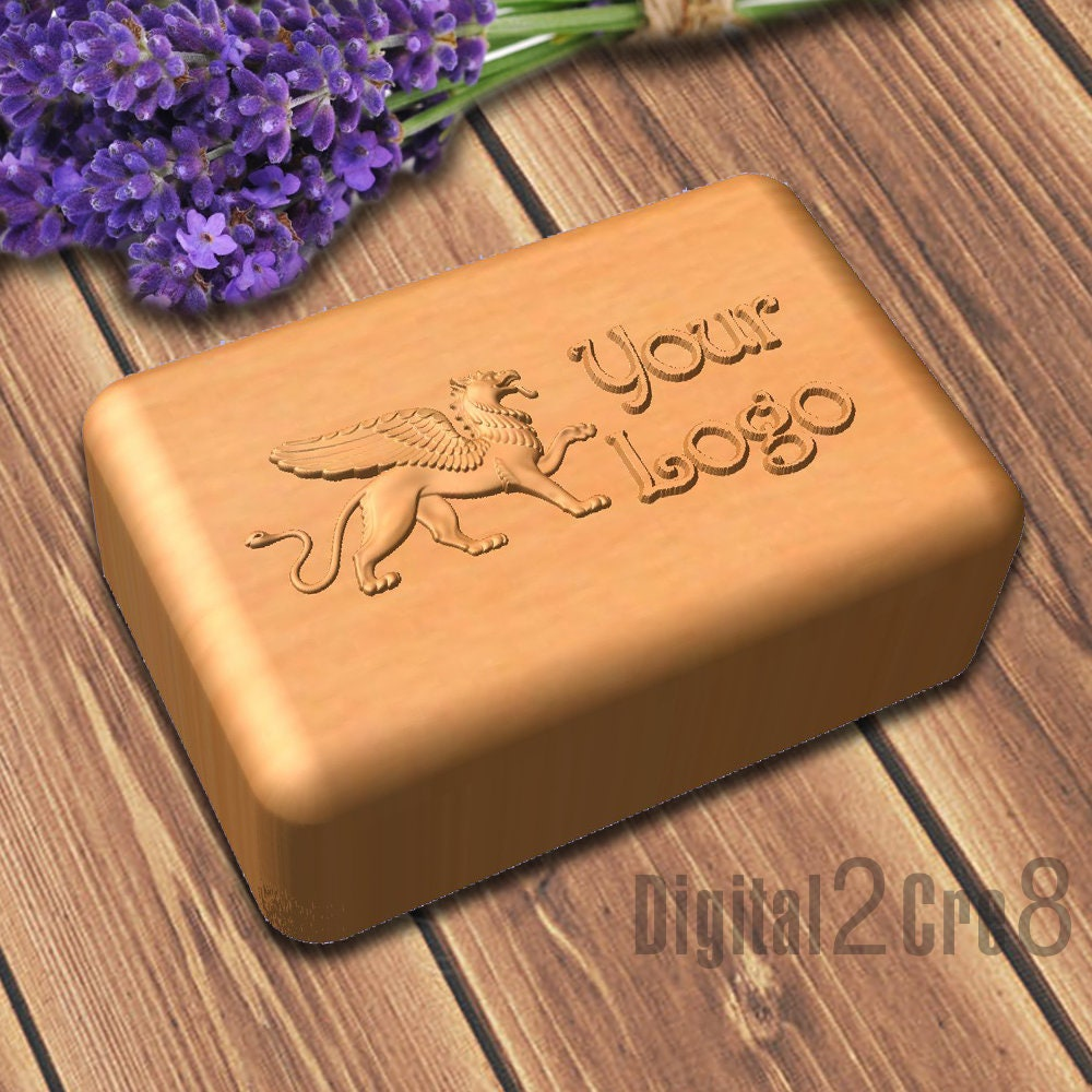 Custom Soap Mold Rectangle Shaped Personalized Custom Silicone