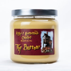 Geek Gift Idea 16 oz Butterbeer Soy Candle