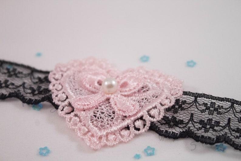 Lace Choker Necklace  Black Lace Choker  Pink Choker  Boho Choker  Thin Choker  Goth  Gothic  Daddy/'s Girl  Baby Doll  Lolita Cute