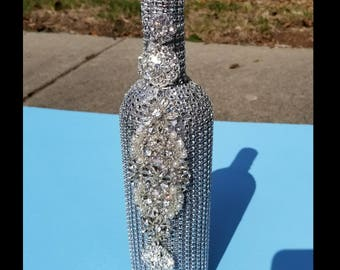 Bling Champagne Bottle