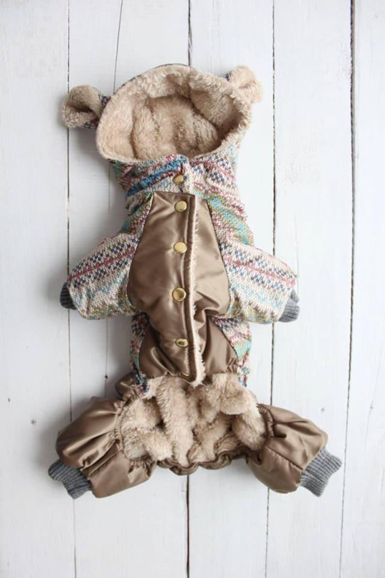 Brown Pine Cones Cotton Female Dog Britches Panties Dog Diaper  Elastic Legs n Waist