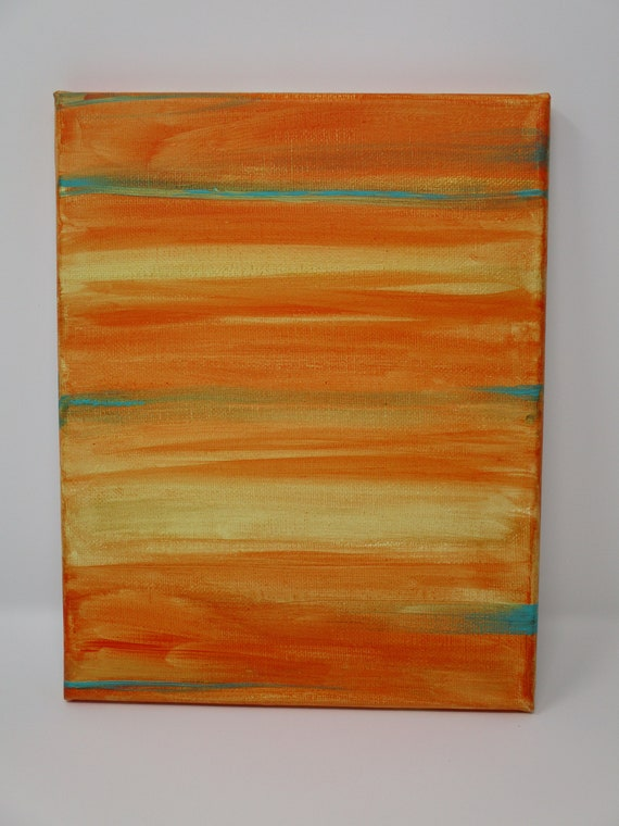 Abstract acrylic painting on canvas 8x10 inches. Original, hand-painted.