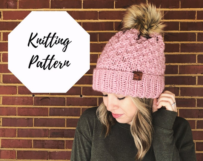 Featured listing image: The Madeline Beanie PATTERN / PDF Download