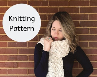The Madeline Scarf Knitting PATTERN / PDF Download