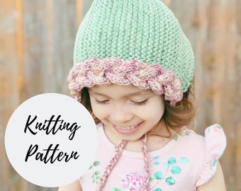 The Lara Jean Pixie Bonnet PATTERN / PDF Download