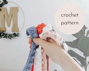 Bobble Paci Clip Crochet PATTERN / PDF Download