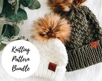 PATTERN BUNDLE The Madeline Beanie / PDF Download