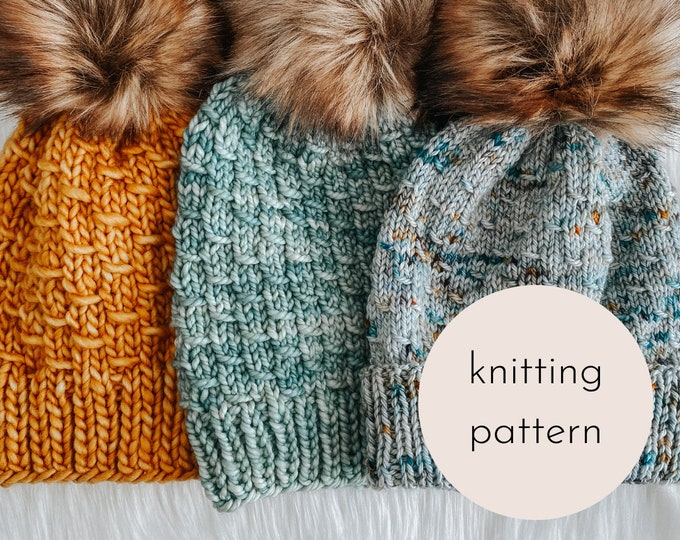 Featured listing image: The Mermaid Tail Beanie PATTERN / PDF Download