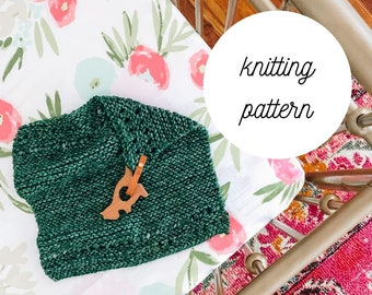 Lizzie Lovey Knitting PATTERN  PDF Download