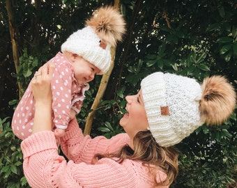 Mommy and Me Madeline Beanies