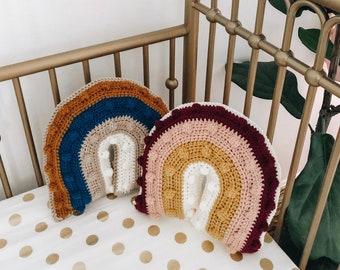 Rainbow Pillow / Nursery Decor