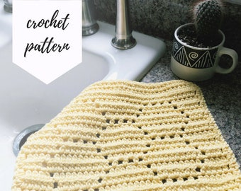 Honeycomb Dishcloth PATTERN / PDF Download