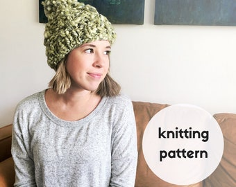 The Carrie Beanie PATTERN / PDF Download