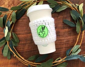 Pixie Cozy // Handmade cup sleeve