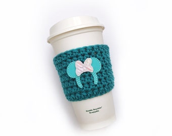 Turquoise Minnie Ears Cozy