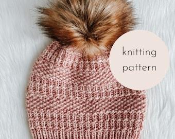 The Calluna Beanie Knitting Pattern / PDF Download