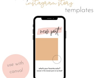 Canva Instagram Stories Templates - Trendy Bundle